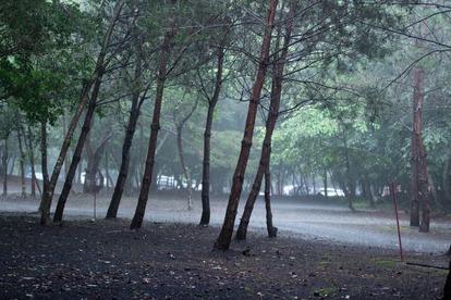 キャンプ・シーズンの秋だからこそ台風に注意