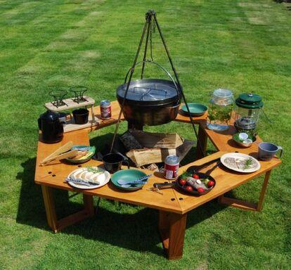 ヘキサテーブル設置イメージ(1)