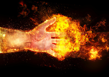 人体自然発火現象の謎