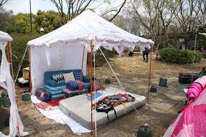 ファミリーでキャンプする時のテントを選ぶポイント