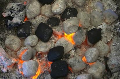 キャンプでの焚き火の活用と料理火力としても大きな役割を果たす炭の種類