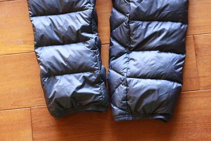 登山 ダウンパンツ コンパクト マウンテンイクイップメント パウダーパンツ 裾