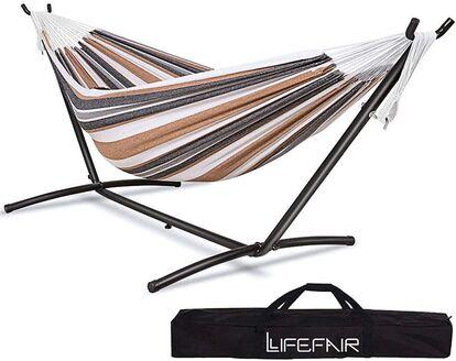 LifeFair ハンモック 自立式スタンドセット