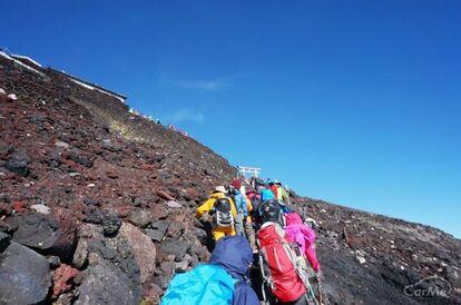 富士山 登山道