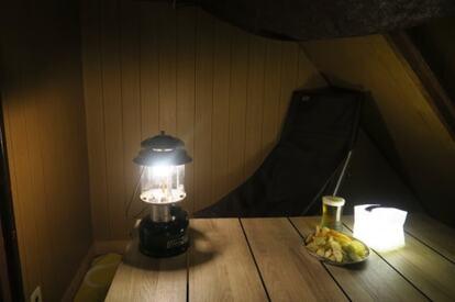 夜のおうちキャンプ
