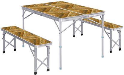FIELDOOR 「収納式アルミレジャーテーブル」