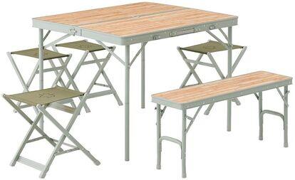 ロゴス 「LOGOS Life ベンチテーブルセット6」