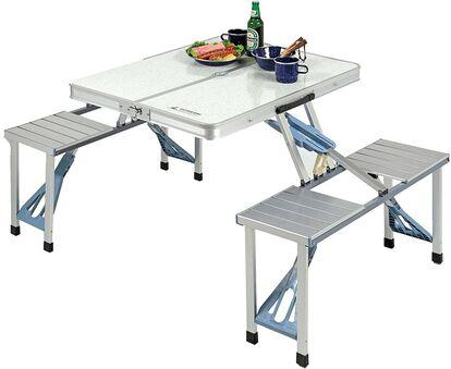 キャプテンスタッグ「ラフォーレ DXアルミピクニックテーブル UC-9」