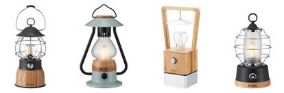 LEDライトはヤケドや引火の危険がないので、お子様のそばにも安心して置ける。 長寿命で静かなうえ、環境に優しい。
