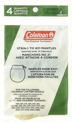 コールマン ランタン マントル 21型 4枚入り
