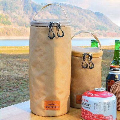 Sundickアウトドアキャンプガス缶収納CB/OD缶小物入れランタンケースコンロ アクセサリー ハンドバッグ