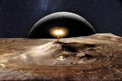 火星の火山が活動している証拠を示す堆積物の発見