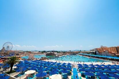 ジョイアマーレの浜辺