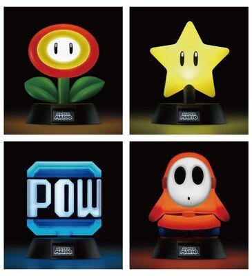 スーパーマリオ キャラクターライト 点灯時