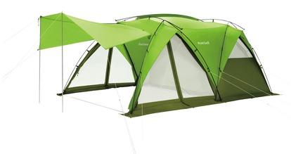 モンベルから2ルームのテント「ムーンライト キャビン4」が新発売