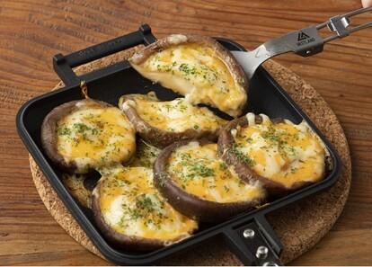 とろっと溶けたチーズと天国のコラボ!「椎茸のチーズ焼き」