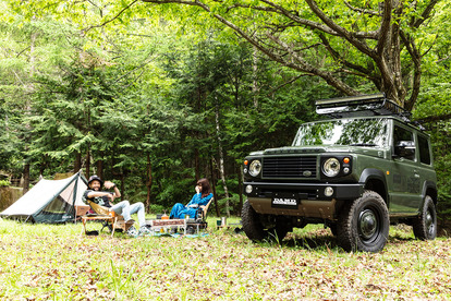 アウトドアで「映える」ジムニーをレンタルしよう! 手軽にキャンプを楽しめるレンタカーサービス「Rodrip(ロドリップ)」とは