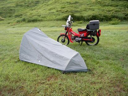 ハンターカブで行くソロキャンプの魅力