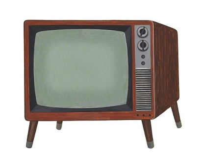 古いテレビのイメージ画像