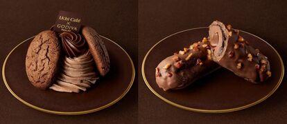 Uchi Cafe×GODIVA「ビスキュイ ショコラキャラメル」「エクレール ショコラキャラメル」/ローソン