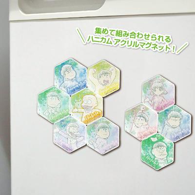 アイアップ「おそ松さん ハニカムアクリルマグネット BIG」2