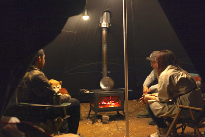 秋&冬キャンプを楽しむためのキャンプストーブ