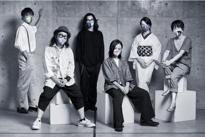 左から杉田陽平、志水賢二、鈴木一世、藤川さき、小松本結、木原千春