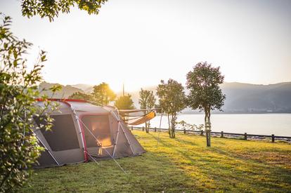 秋が狙い目な海キャンプ