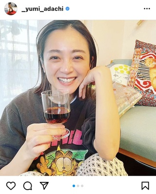 安達祐実、キュートなすっぴん風ショットが「すごく可愛い笑顔」「お肌 ...